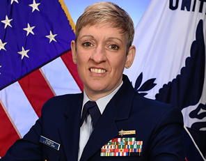 Captain Holly Najarian, USCG
