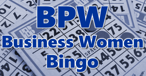 BPW Business Women's Bingo
