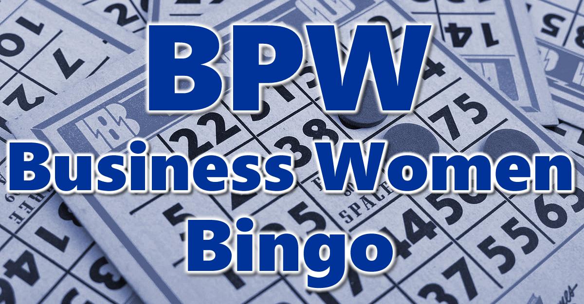 BPW Business Women's Bingo